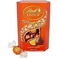 Lindt 瑞士莲 Lindor milk Orange Cornet巧克力  200克(2包)