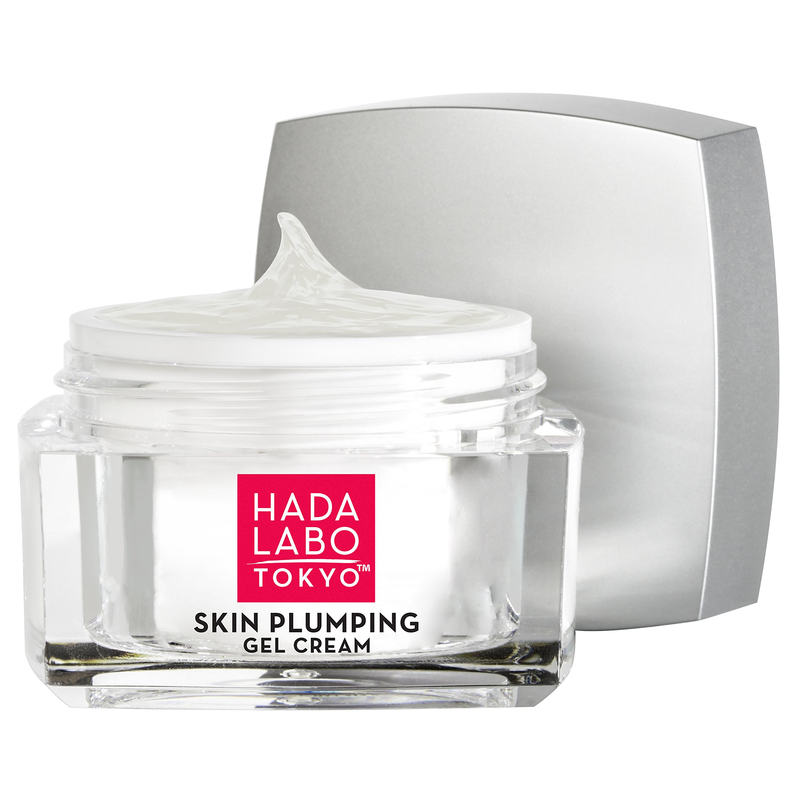 Hada Labo Tokyo Skin Plumping Gel Cream, 1.76 FL OZ - with Super Hyaluronic Acid and Collagen - 24-Hour Moisture and Visible Line Plumping, fragrance free, paraben free, non-comedogenic by Hada Labo Tokyo (Image #3)