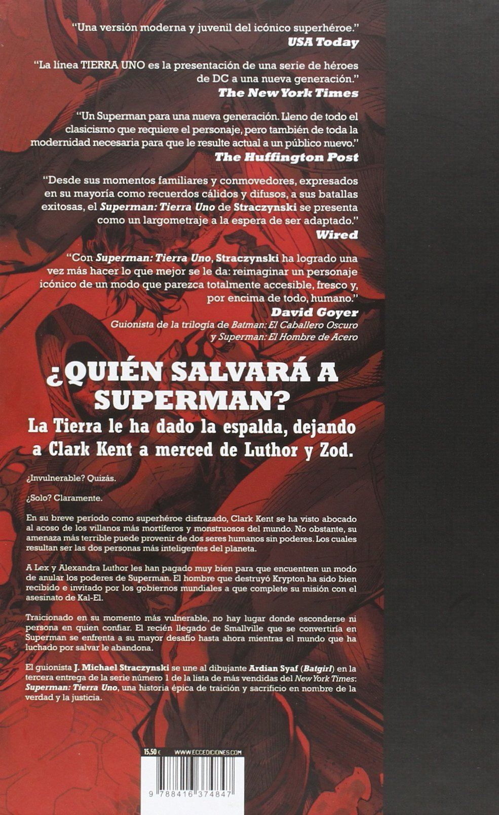 Superman: Tierra uno vol. 3: STRACZYNSKI(374847): 9788416374847: Amazon.com: Books