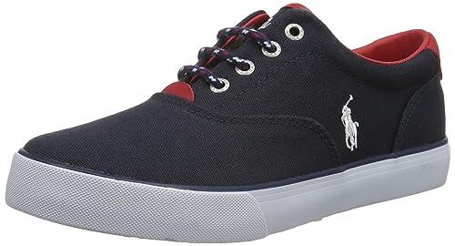 Polo Ralph Lauren Vaughn - zapatilla deportiva de lona niño: Amazon.es: Zapatos y complementos