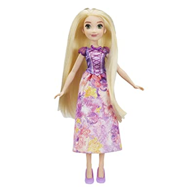 Disney Princess Royal Shimmer Rapunzel Doll: Toys & Games