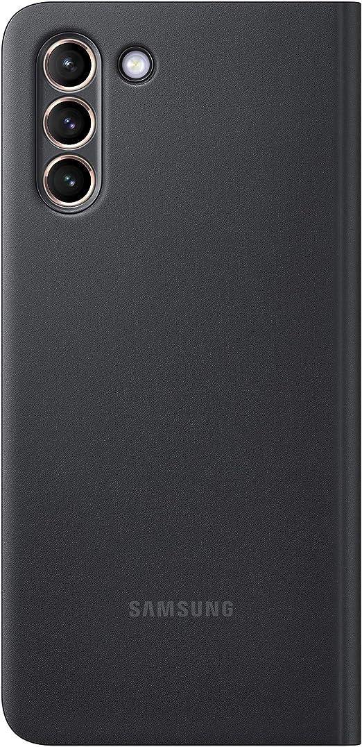 Samsung Clear View Cover Ef Zg996 Für Galaxy S21 5g Black Elektronik