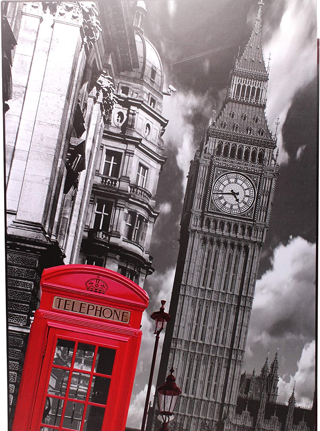 Big Ben 1000 Large Piece Jigsaw Puzzle for Kids Adults - 70 x 50cm Size