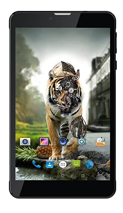 Ikall N4 Tablet  7 inch, 8 GB, WiFi + 4G LTE + Voice Calling , Black