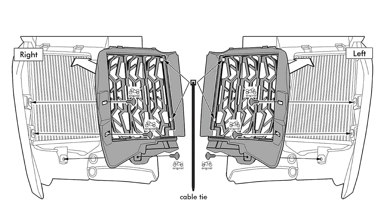 R1200GS Coperchio Di Protezione Interruttore Cavalletto Laterale Per BMW R 1200GS LC 2014-2017 BMW R 1200GS LC Adventure 2014-2017-Arancia