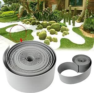 Speed - Rollo liso para borde del césped, plástico: Amazon.es: Jardín