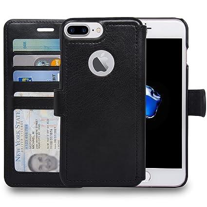 Amazon.com: NAVOR Slim & Light Flip Wallet Premium – Funda ...