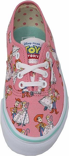 ad9dde72de1e Vans Girls Kids Shoes Authentic Woody Bo Beep Pink Disney Pixar Toy Story