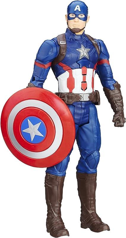 Marvel Legends Titan Hero Série CAPTAIN AMERICA Electronic Action Figure Toy