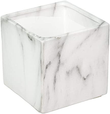 Koyal Wholesale Marble Decor Black White Marble Effect Square Cube