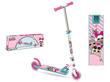 Amazon.com: MONDO LOL Scooter Aluminium LOL Pink 1: Toys & Games