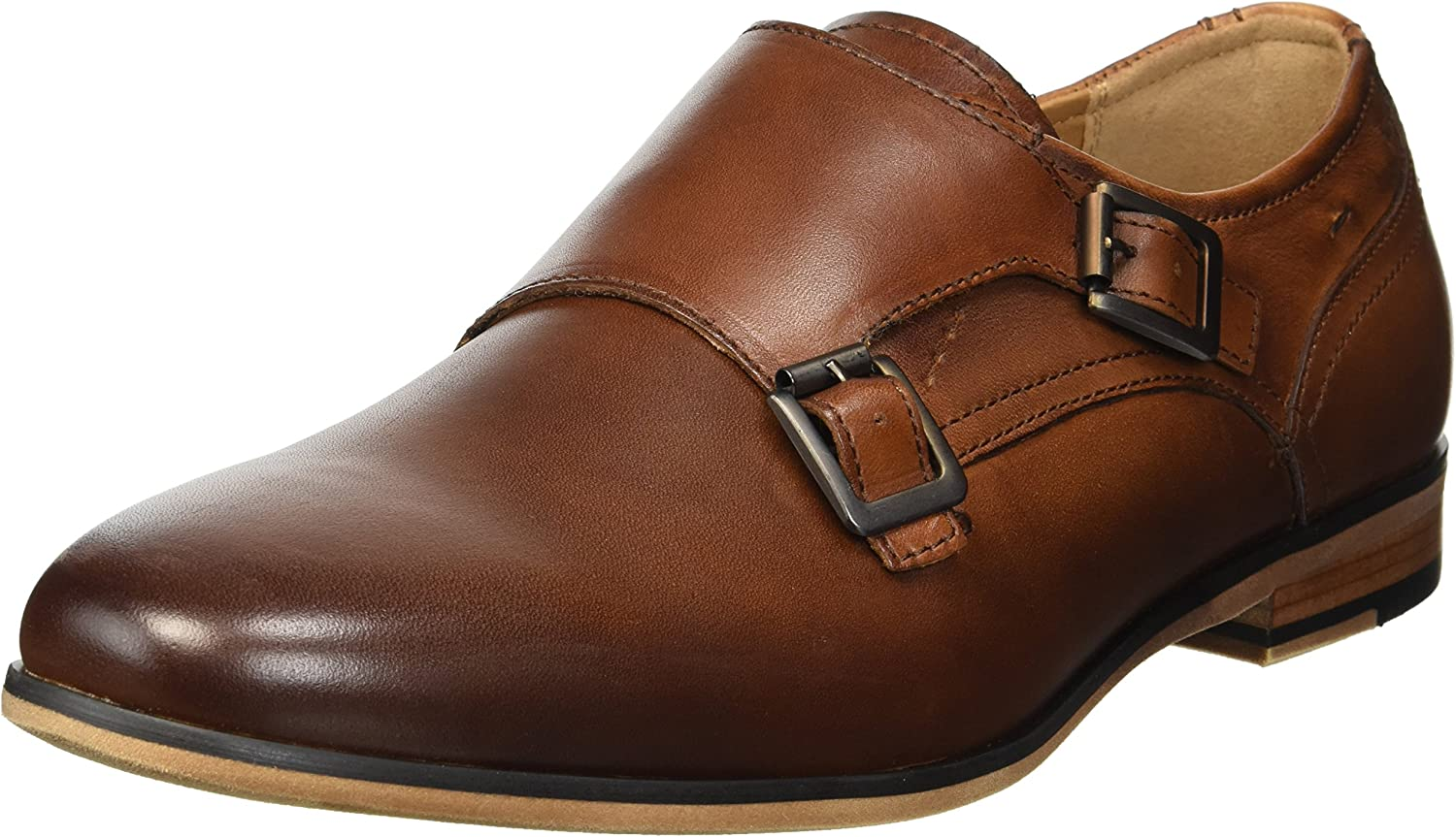 TALLA 41 EU. Kenneth Cole Reaction Guy Monk, Zapatos de Cordones Oxford para Hombre