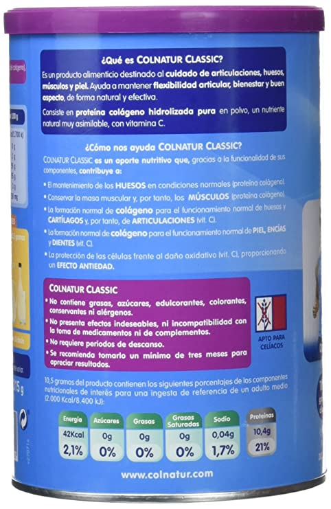 Colnatur Classic Frutos del Bosque 315gr: Amazon.es: Salud y cuidado personal