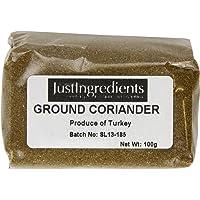 JustIngredients Essential Coriander Cilantro Molido - 5 Paquetes