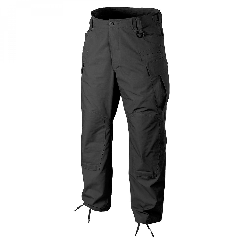 Pantaloni in Policotone Twill Nero Helikon-Tex SFU Next