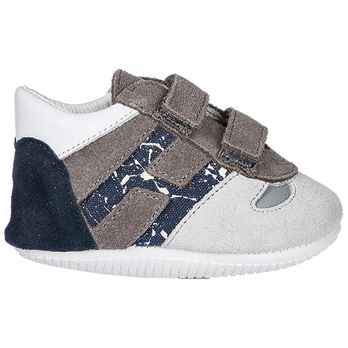 Hogan Sneakers Olympia Bambino Grigio  Amazon.it  Scarpe e borse 22c525c4b88