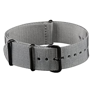 INFANTRY¨ NATO Watch Band Strap Nylon Fabric 4 Rings Stainless Buckle with 20mm and 22mm