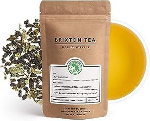 Brixton Tea ® Marrakech Mint Green, Fresh Loose Leaf Tea, Classic Moroccan Mint Tea, 80g