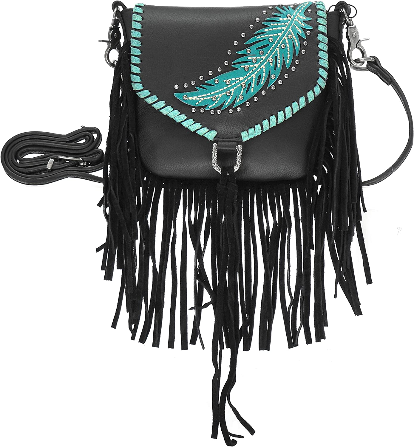 Montana West Embroidered Collection Concealed Carry Crossbody Bag// Wallet
