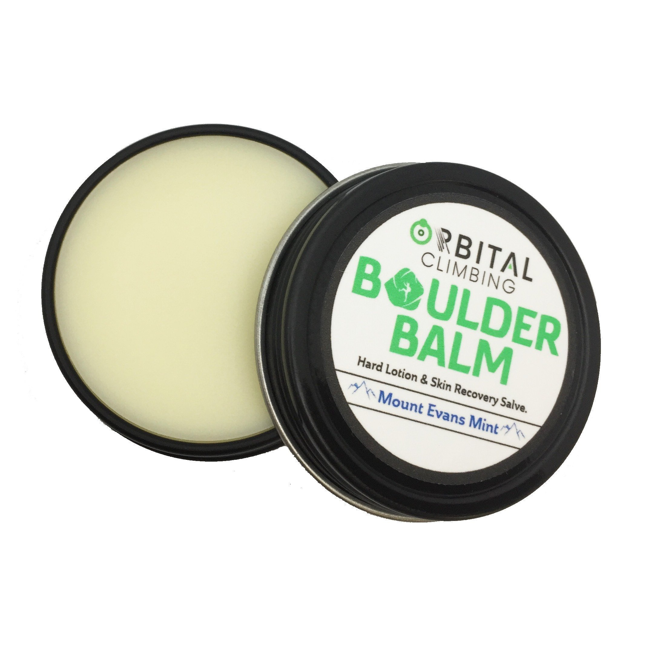 Boulder Balm: Skin Recovery Salve for Hands & Beard Conditioning (Mount Evans Mint Scent) 1oz Plant Based Herb Infused Formula Helps Heal Dry Skin & Keeps Skin Elastic - Fast Absorbing!