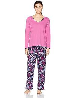 cba4343d9e Jockey Women s Cotton Two-Piece Pajama Set at Amazon Women s ...