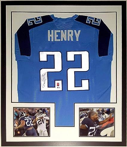 best service 42188 a7583 Derrick Henry Signed Tennessee Titans Jersey - Beckett ...