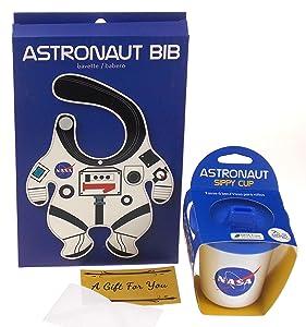 NASA Astronaut Bib & Sippy Cup Bundle