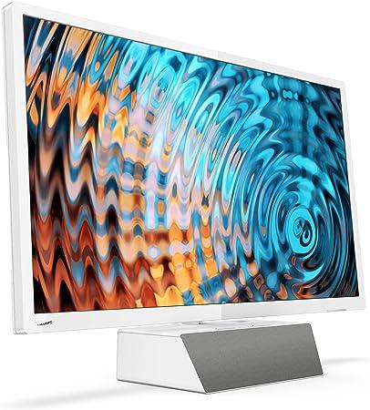 Philips Smart TV LED Full HD Ultrafino 32PFS5863/12, Televisor, HDMI/LAN/USB, 32 pulgadas, Blanco con base premium de altavoz bluetooth: Philips: Amazon.es: Electrónica