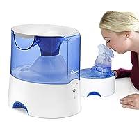 Crane EE-5202 Inhaler & Warm Mist Humidifier, 0.5 Gallon, Blue & White