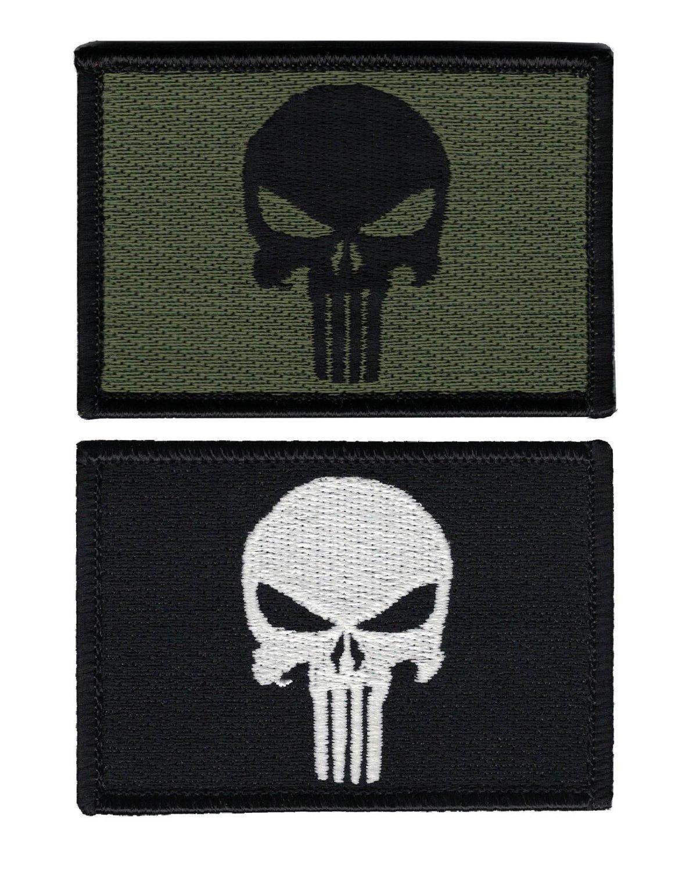 Titan One Europe Hook Fastener Punisher Skull This Is Not Revenge Black Jacket Cap Tactical Morale Patch Parche Bordado Gancho