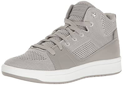 Skechers Street Women's Downtown-Fly High Fashion Sneaker,Gray,5 ...