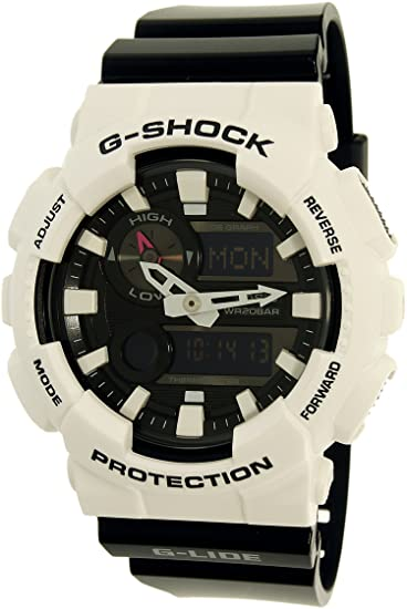 9f095615c01d CASIO G-Shock AWGM-100GW-7A Multi Band 6 Black and White Resin Men s Watch   Amazon.ca  Watches