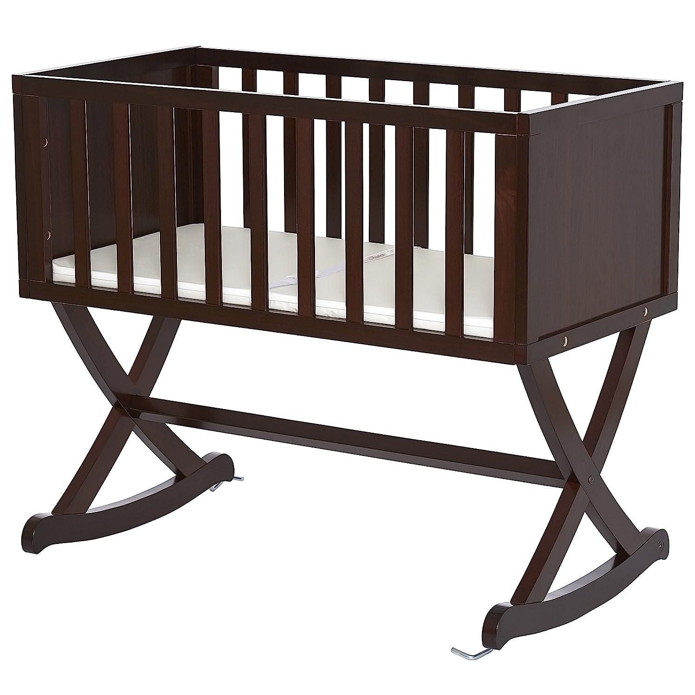 Dream On Me Haven Baby Cradle in Espresso 641-E