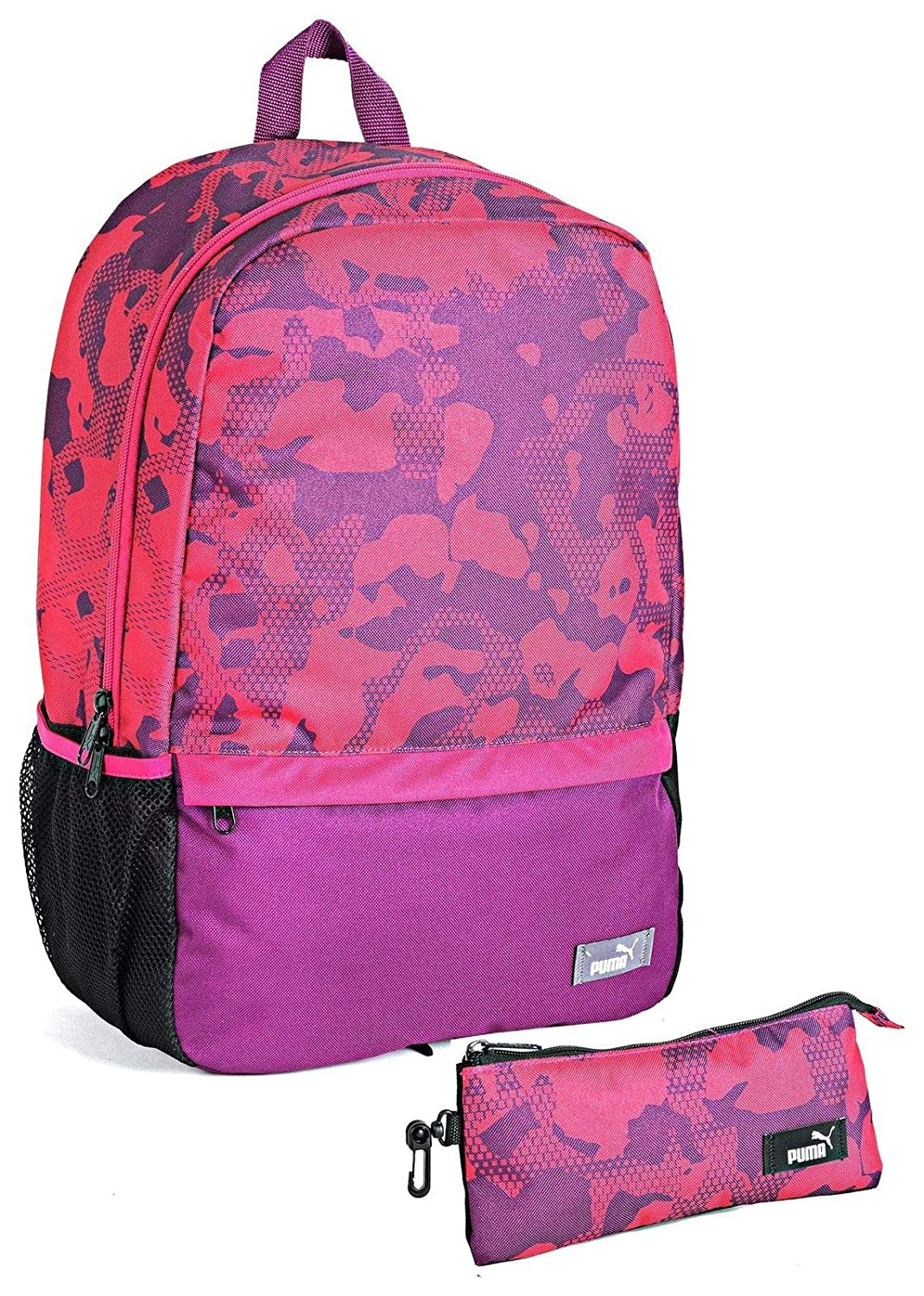 PUMA Dark Purple Love Potion Backpack   Pencil CASE Set  Amazon.co.uk   Luggage 5b9957f5a3316