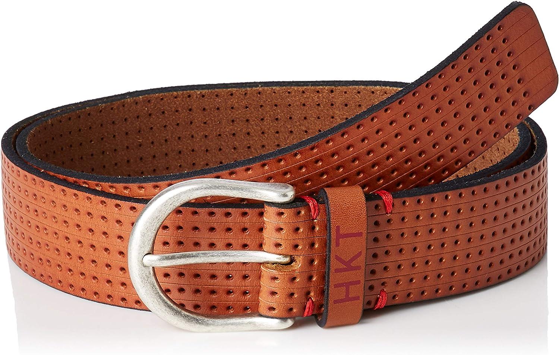 HKT by Hackett London Hkt Punched Belt Cinturón para Hombre