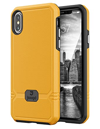 Amazon.com: JAAGD iPhone X funda, Slim Shock-absorción ...