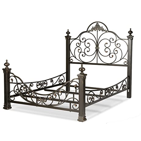 Amazoncom Baroque Complete Bed with Massive Cast Metal Grills