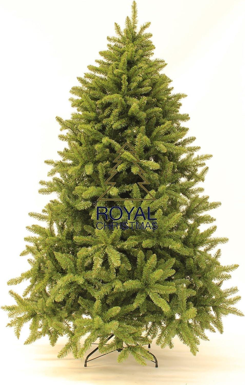 Albero Di Natale Washington Deluxe.Royal Christmas Albero Di Natala Artificiale Washington Deluxe Altezza 210 Cm Amazon It Casa E Cucina