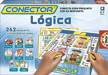 Educa Juegos - Conector Lógica, Juego de Mesa (15885): Amazon.es: Juguetes y juegos