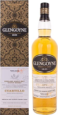 Glengoyne Whisky Cuartillo 40º + Estuche - 1000 ml: Amazon.es: Alimentación y bebidas
