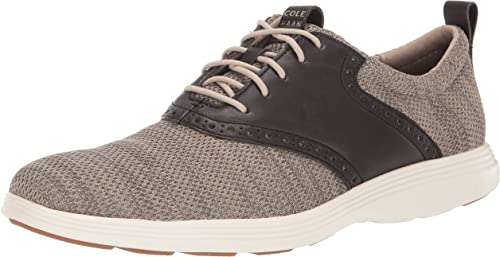 Cole Haan Mens Grand Tour Knit Oxford