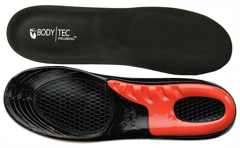 ... para rendimiento deportivo, correr o senderismo. Plantillas negras con una fantástica amortiguación de impactos.: Amazon.es: Zapatos y complementos