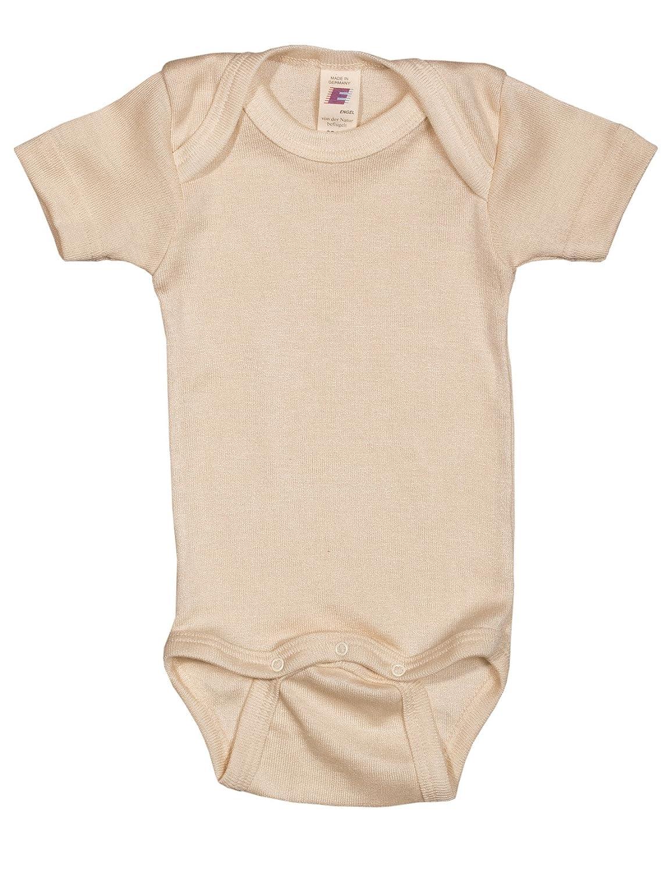 Engel Baby//Kinder Body Langarm Bio-Schurwolle//Seide