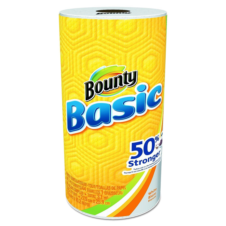 Bounty 92976 básicos toallas de papel, 10.19