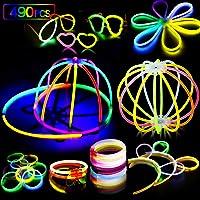 AMZJUPWM Barras Luminosas, 490pzas (20 cm) múltiples Colores: