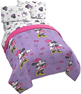 Amazon Com Disney Mickey And Minnie Classic Sheets Full Home Kitchen