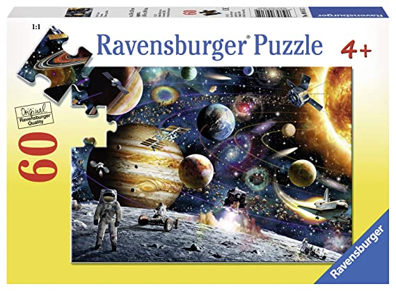 Ravensburger Outer Space 60 Piece Jigsaw Puzzle For Kids Every Piece Is Unique Pieces Fit Together Perfectly