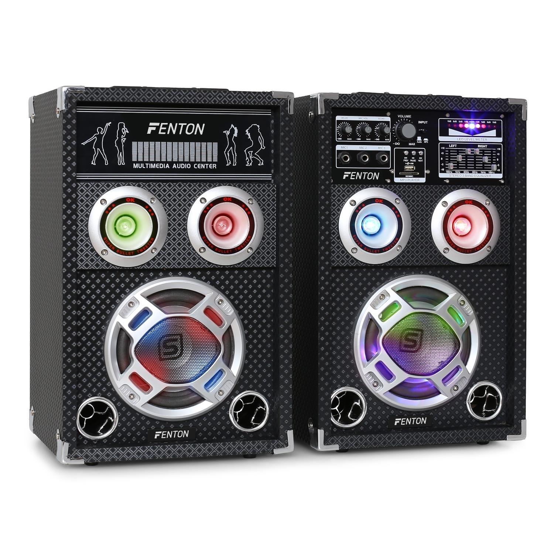 Skytec KA-06 Equipo de altavoces PA activo para karaoke