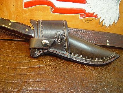 Amazon Com Buck 124 Cross Draw Knife Sheath Made Out Of Buffalo