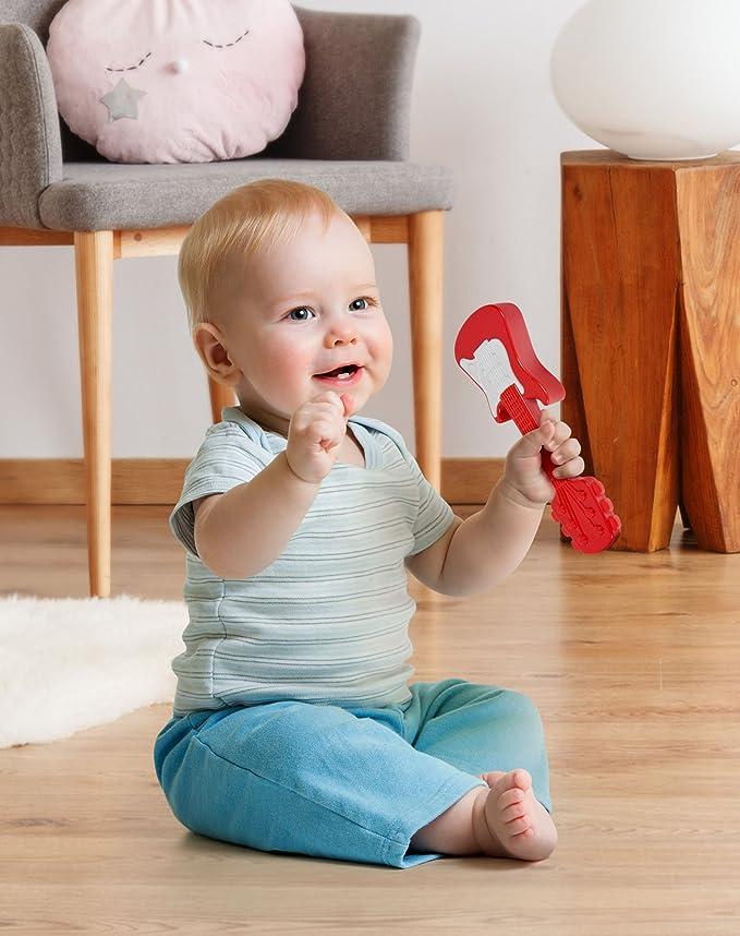 Amazon.com: Fred hacha bebé sonajero: Baby